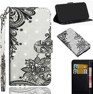 71823c2dba7 Lotuslnn Funda para Samsung Galaxy A50, Carcasa Libro con Tapa Flip Case  Golpes Cartera Billetera