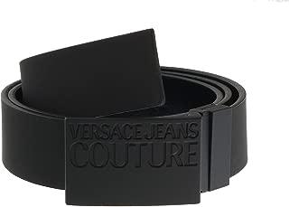 Jeans Couture Matte Black Adjustable/Reversable Mens Ratchet Belt for mens