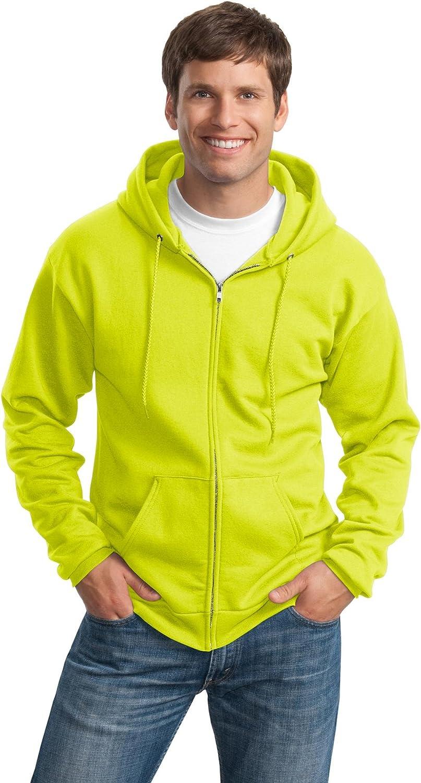 Port & Company Men's Tall Ultimate Full Zip Hooded Sweatshirt