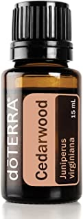 doTERRA - Cedarwood Essential Oil - Naturally Repels Insects, Promotes Relaxation, Helps to Keep Skin Looking Healthy; for Diffusion, Internal, or Topical Use - 15 mL