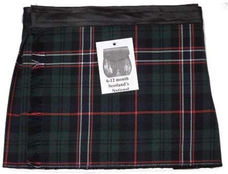 100/% Acrylic Tartan Kilt of Childrens Clan Scotlands National Tartan Kilt for Kids Boys and Girls.
