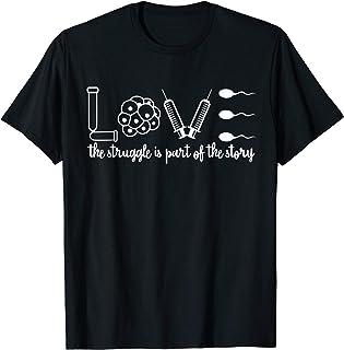 IVF Infertility IVF Mom & Dad IUI T-Shirt