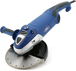 Ford 2500 Watts 230mm Big Angle Grinder - Paddle Switch, Corded Electric 9 inch for Metal / Steel / Concrete / Tile Cutter...