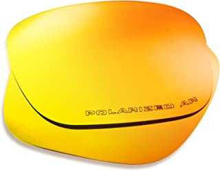 Oakley Holbrook Replacement Lenses (Orange) - Polarized, 1.4 mm Thick, AR Coated, Added UV Protection, Fits Perfectly, for Men & Women