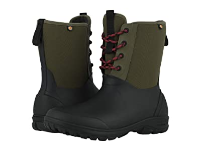 Bogs Sauvie Snow (Olive Multi) Men