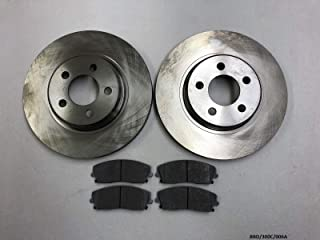 NTY Front Brake Pads Set 300C// Charger//Challenger 2008-2019 320mm Disc Diameter