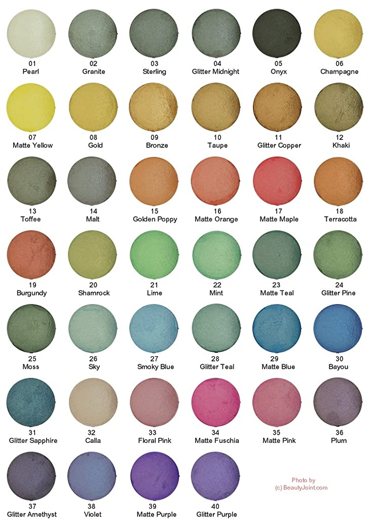 変装女優海上KLEANCOLOR American Eyedol (Wet/Dry Baked Eyeshadow) - Violet (並行輸入品)