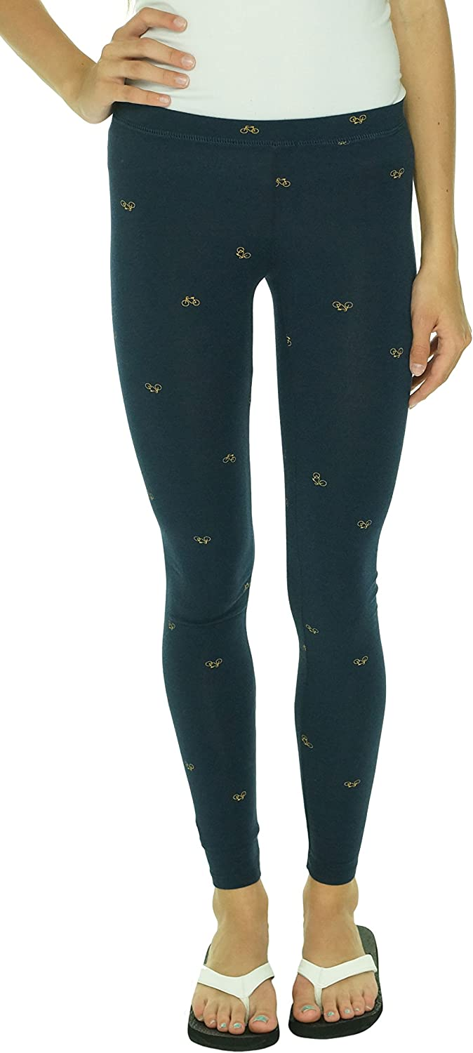 Alternative Junior's Printed Leggings bluee XS