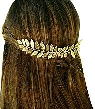 Horquillas para el pelo, diseño de hojas de oro para novia, ideal para novias, damas de honor, accesorios para el pelo, joyería para el pelo con peines