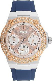 Guess Women's Zena Rose Gold Dial Watch - W1291L2