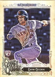 2017 Topps Gypsy Queen #97 Gavin Cecchini New York Mets Rookie Baseball Card