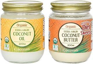 ココナッツオイル(200ml)&ココナッツバター(200ml) Coconut Oil & Coconut Butter