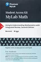 MyLab Math with Pearson eText -- 24 Month Standalone Access Card -- for Using & Understanding Mathematics with Integrated Review