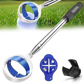Golf Ball Retriever, Extendable Golf Ball Retriever for Water [Longest 78.7''] w/Golf Ball Pick Up Retriever Grabber Claw ...