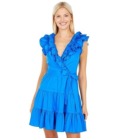 BCBGMAXAZRIA Ruffle Tie Dress