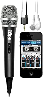 IK Multimedia Microphone, (IP-IRIG-MIC-IN)