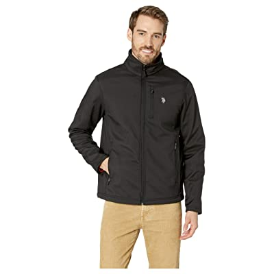 U.S. POLO ASSN. Softshell Jacket (Black) Men