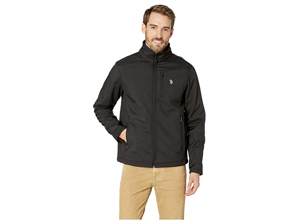 U.S. POLO ASSN. Softshell Jacket (Black) Men