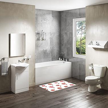 Bonamaison Bathmat, Polyester, Multicolor, 65X50 cm