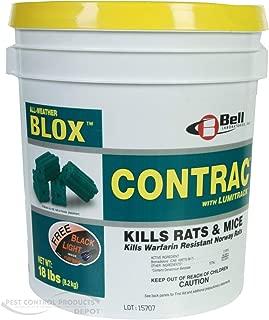 4x4 lbs Contrac Blox Rat & Mice Bait