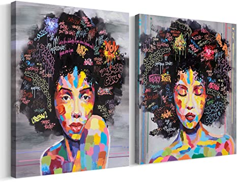 Afro art american african Art by