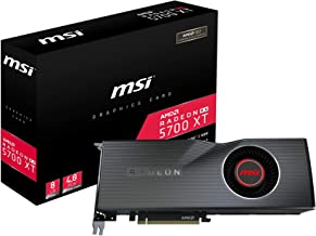 MSI Gaming Radeon RX 5700 XT 256-bit HDMI/DP 8GB GDRR6 HDCP Support DirectX 12 Single Fan VR Ready OC Navi Architecture Graphics Card (Radeon RX 5700 XT 8G)