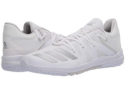 adidas Speed Turf (Footwear White/Silver Metallic/Grey One) Men