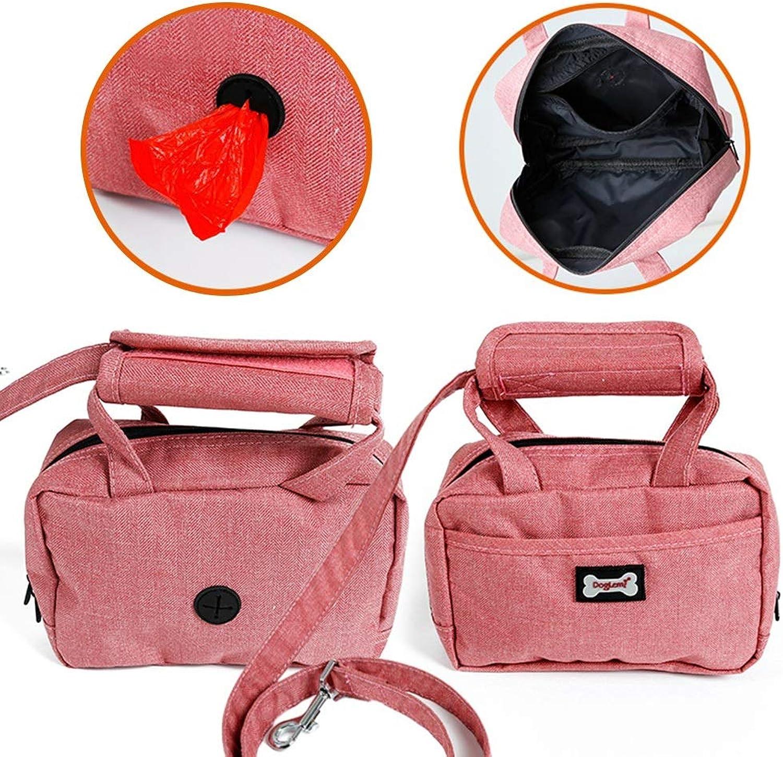 Albabara Pet Dog Leash Training Pouch Poopbag Treat Bag Holder Lightweight Compact Ideal Walking Training Running Hiking