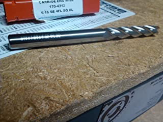 5/16 4 Flute EXTRA LONG CARBIDE END MILL 170-4312 1.62 LOC