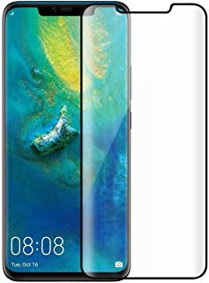 Huawei Mate 20 Pro Full Glue Glass Curved Tempered Glass Screen Protector For huawei mate 20 pro - Black