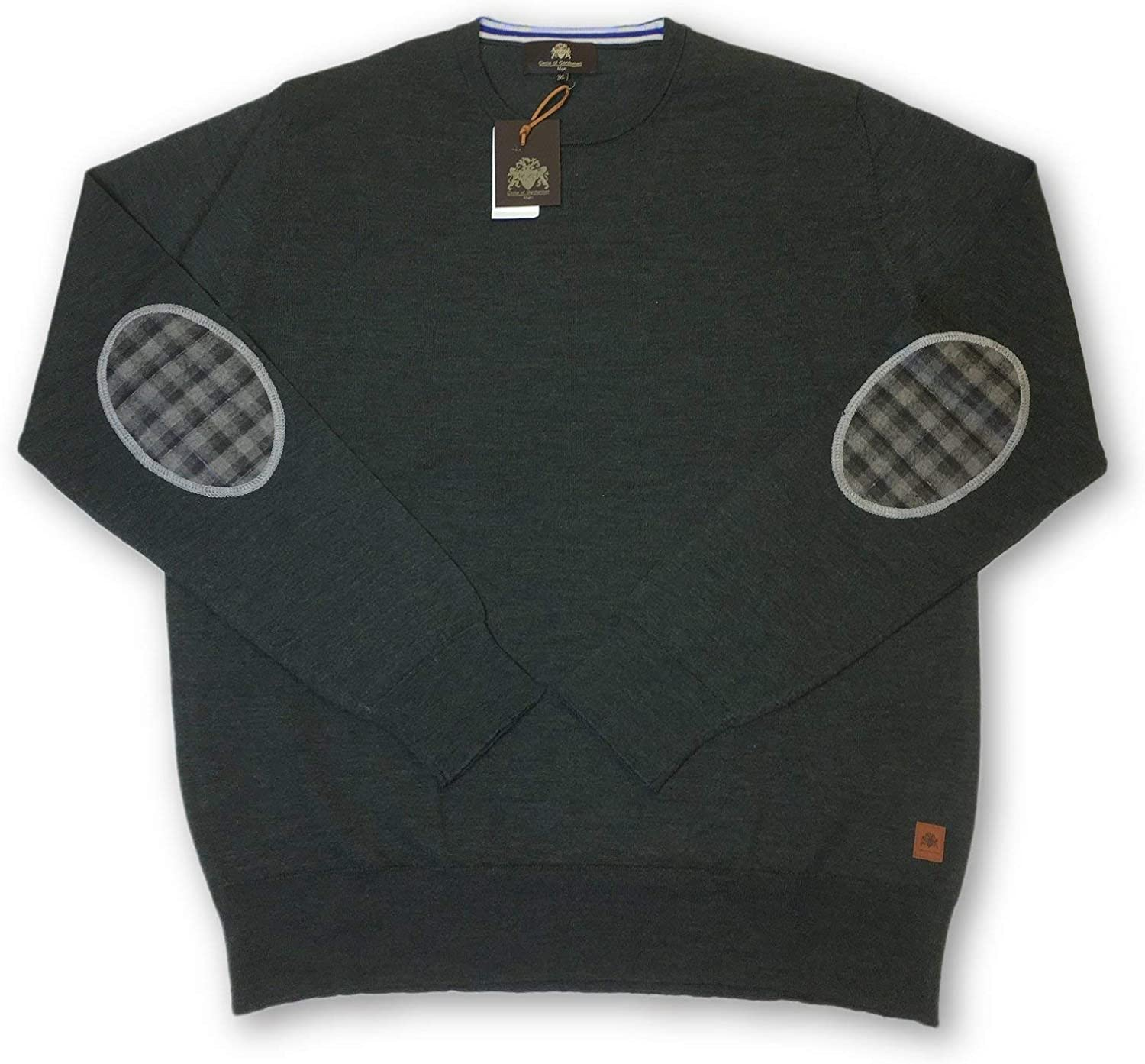 Circle of Gentlemen 'Hadwin' Knitwear in Green Size XXXL Leather