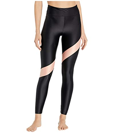 Koral Aello High-Rise Energy Leggings (Black/Rose Quartz) Women