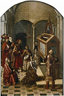 The High Quality Polyster Canvas Of Oil Painting 'Berruguete Pedro Sepulcro De San Pedro Martir 1493 99 ' ,size: 18 X 27 Inch / 46 X 68 Cm ,this Cheap But High Quality Art Decorative Art Decorative Canvas Prints Is Fit For Dining Room Gallery Art And Home Artwork And Gifts