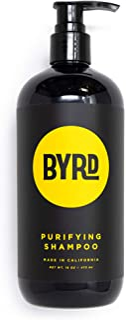 BYRD Purifying Shampoo - Red Algae, Green Tea, Aloe Vera, Sea Kelp, Vitamin B, UV Protection, Mineral Oil Free, Paraben Fr...