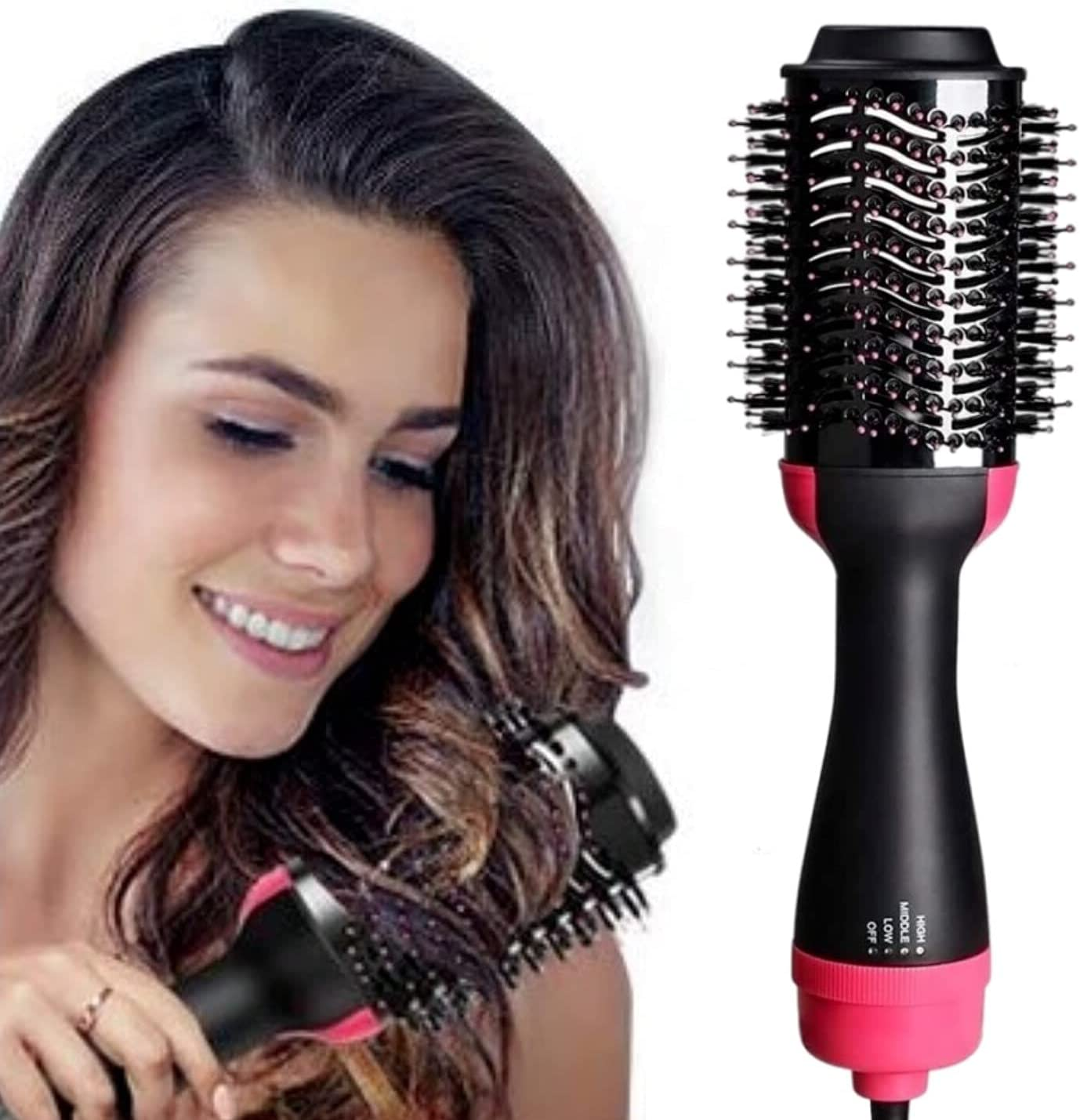Hair Dryer Brush One Step Volumizer Air Safety and trust Now free shipping Hot and