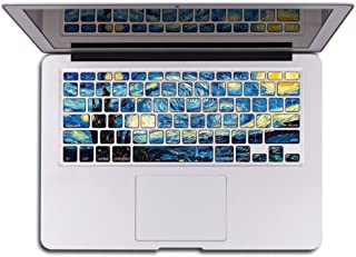 Herngee Starry Night by Van Gogh MacBook Keyboard Decal Keyboard Skin Sticker Compatible with 2016 New MacBook Pro 13
