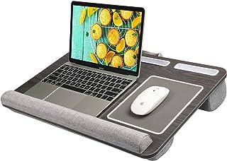 HUANUO Plateau pour Ordinateur Portable avec Coussin, Tapis de Souris & Repose-Poignet Intégrés pour Ordinateur Portable j...