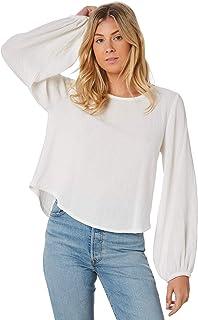 The Hidden Way Women's Bobbie Loose Fit Top Cotton Natural