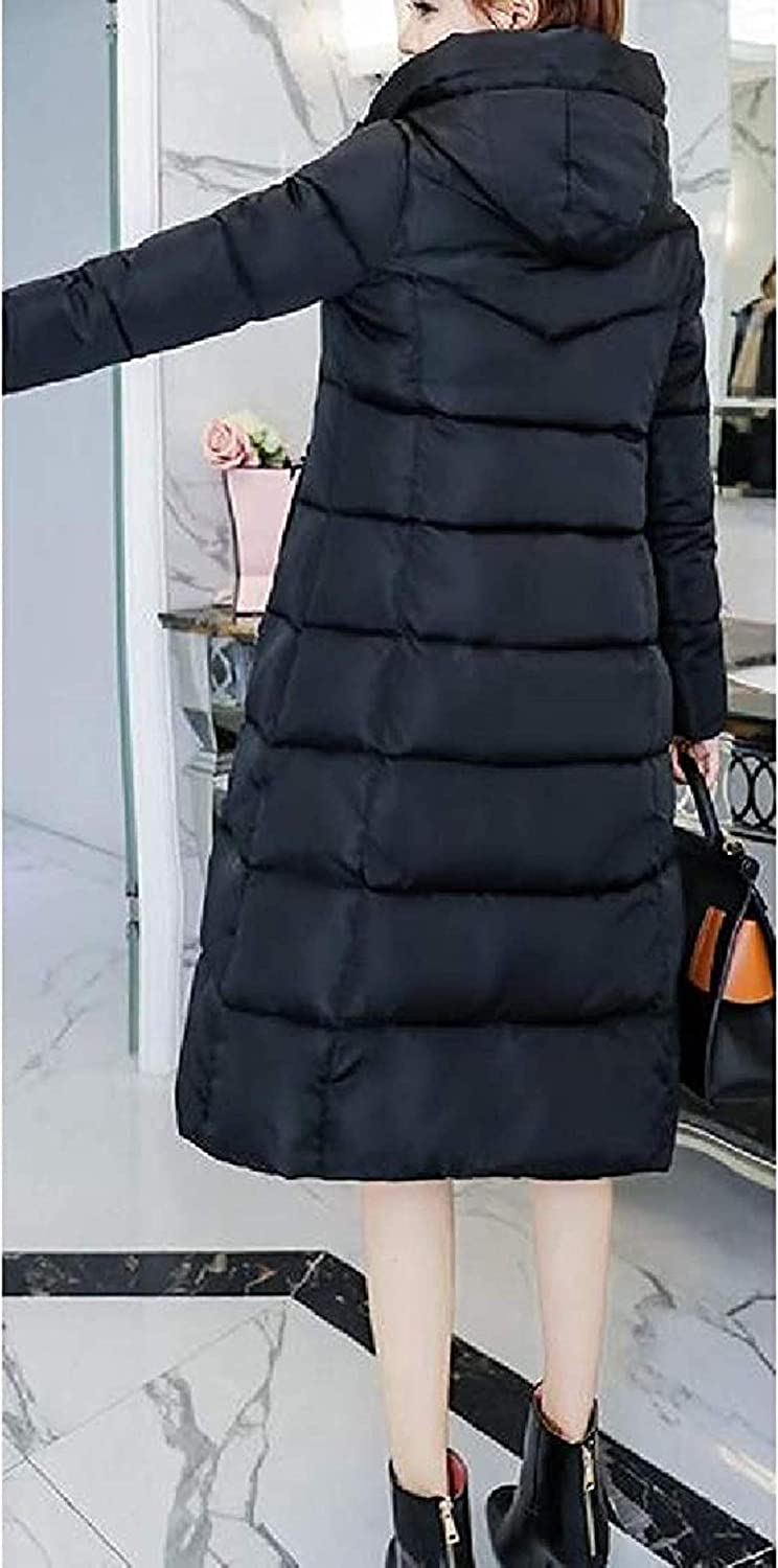 Womens Basic Down Quilted Warm Outwear Jacket Thick Winter Parka Coat