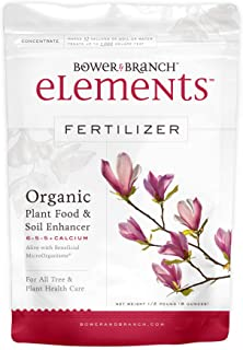 Elements Organic Fertilizer - All Purpose for Indoor Houseplants, Outdoor Flowers, Trees, Tomatoes and All Vegetables (1/2 lb)