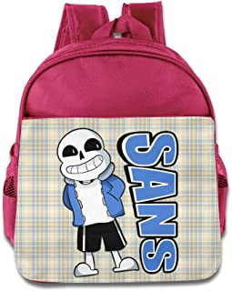 CEDAEI Sans Undertale Role-playing Video Game Personalized Kids Children Shoulders Bag For 1-6 Years Old RoyalBlue