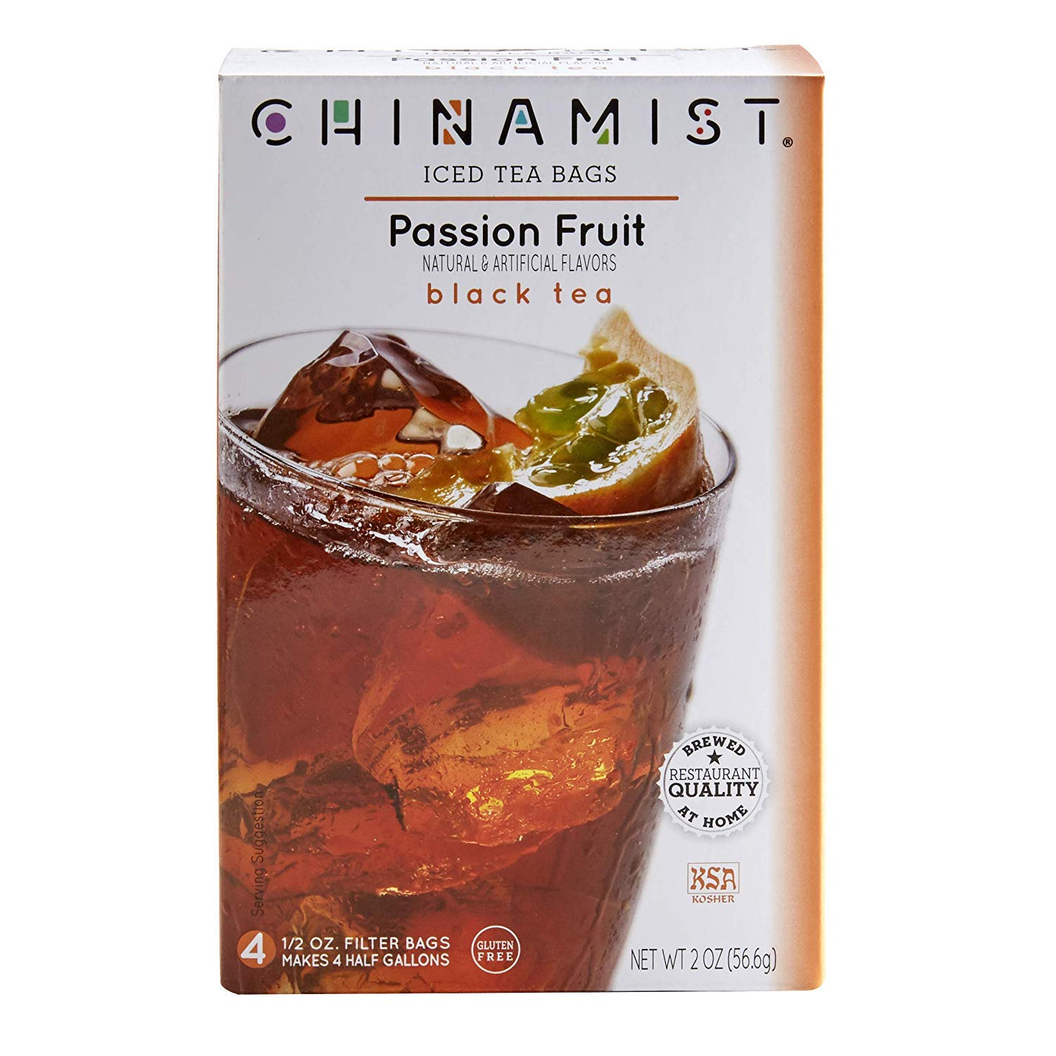 China Mist Passion Fruit Black Year-end gift Tea for Pack 6 Iced 2021 Bags