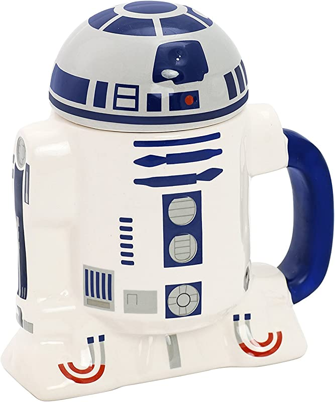 Star Wars R2 D2 Ceramic Cup With Lid Star185