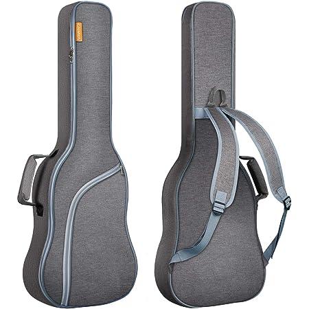 CAHAYA Sac pour guitare électrique Etui rembourré pour guitare électrique Housse de guitare électrique 0,9 cm rembourré Double bandoulière ajustable avec un Brevet de Conception