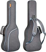 CAHAYA Bolsa Guitarra Electrica Acolchada 9mm Funda para Guitarra Electrica con Un Bolsillo Frontal para Libros de Música