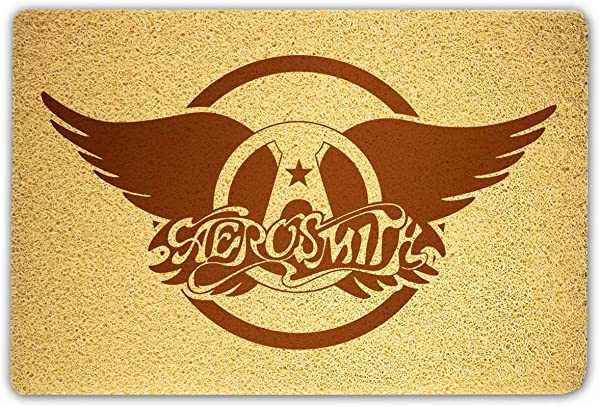 OLESIAstudios Aerosmith Doormat Sweet Home Supplies D Cor Accessories Unique Gift Handmade Present Idea Original Design Commercial Outside Inside Personalized Quotes Exterior