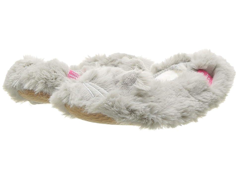 Joules Kids Character Ballet Slipper (Toddler/Little Kid) (Soft Grey) Girls Shoes