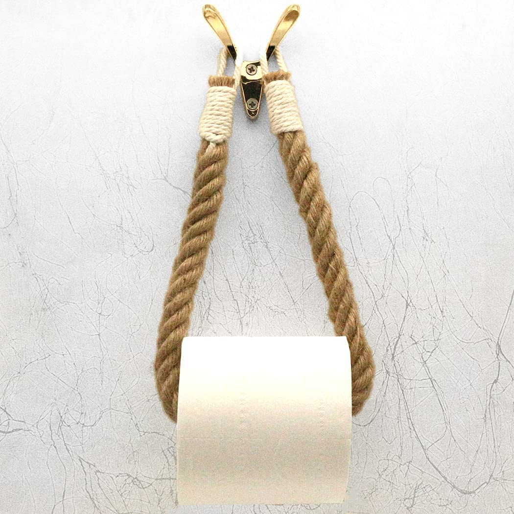 Enuo Nautical Toilet Paper Rustic-Industrial Holder Pap Max 79% OFF Bathroom Cheap SALE Start
