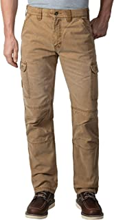 Men's Vintage Cargo Utility Work Pant with Reinforced Knees