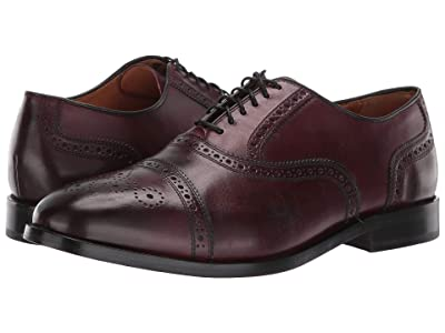 Cole Haan Kneeland Brogue Cap Toe Oxford (Oxblood) Men